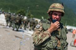 comandante del Battaglione di manovra multinazionale del MNBG-W, Ten. Col Federico Ceccaroli 2