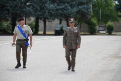 Il Gen. B. Faraglia e il Col. Degortes