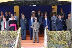 Il Gen. B. Faraglia sul palco delle autorità