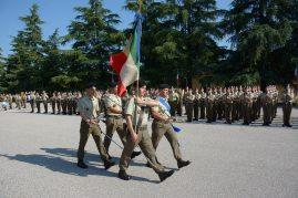 La Bandiera di Guerra dell'85° Reggimento Addestramento Volontari Verona