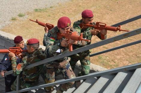 """IRAQ/ Missioni. Concluso il corso """"Law Enforcement"""". Istruttori dell'Arma dei Carabinieri della Police TaskForce"""