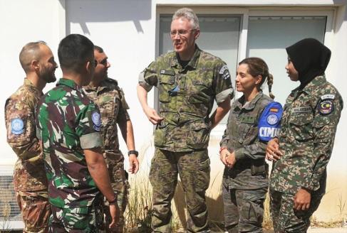 Operatori CIMIC della missione UNIFIL