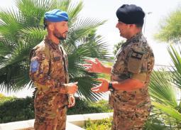 Operatori CIMIC italiano e libanese