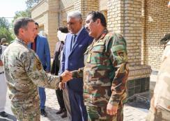 Foto 11 - incontro con il Comandante del 207 Corpo d'Armata ANA