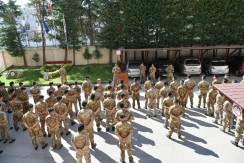 Il Generale Castellano in visita alla Brigata Pinerolo