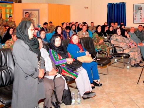 Foto 1 - intervento della ex direttrice del carcere femminile di Herat