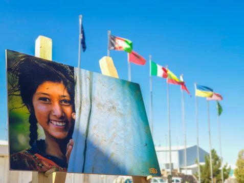 Foto 1 - mostra fotografica a Camp Arena-piazzale delle Bandiere