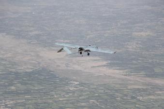 Foto 5 - Shadow 200 in volo nei pressi di Herat