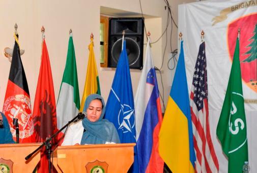 Foto 6 - Direttrice Female Response Unit del Ministero dell'Interno
