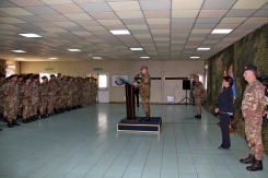 Il Capo di SMD Gen. Graziano e il personale del MNBG-W