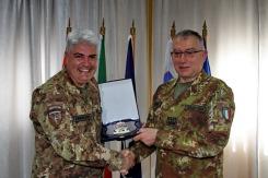 l Capo di SMD Gen. Graziano e il Col. Cucchini, C.te del MNBG-W