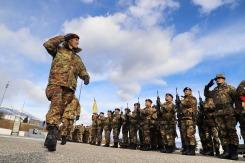 COMKFOR, Gen. Div. D'ADDARIO passa in rassegna lo schieramento