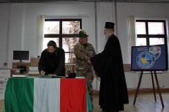 donazione materiale informatico presso seminario ortodosso di Prizren