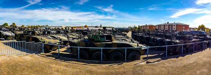 Esercitazione Toro 2019 panoramica di mezzi della TF TORINO dispiegati nel CENAD_11