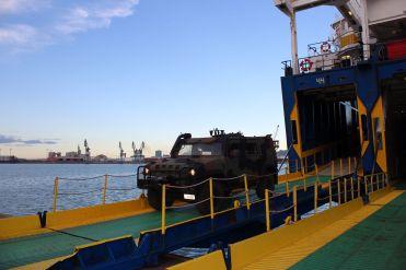 Esercitazione Toro 2019 Porto di Segunto per sbarco mezzi 82° Reggimento Fanteria Torino_1