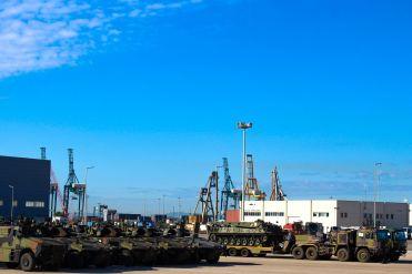 Esercitazione Toro 2019 Porto di Segunto per sbarco mezzi 82° Reggimento Fanteria Torino_3