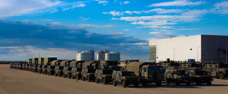 Esercitazione Toro 2019 Porto di Segunto per sbarco mezzi 82° Reggimento Fanteria Torino_4